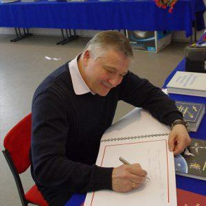 2011 г., летчик-космонавт Юрчихин Федор Николаевич